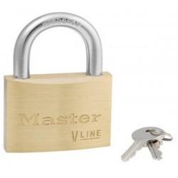 Master Lock 4160 - cadenas en laiton universel, corps 60 mm