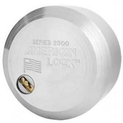 American Lock A2500 - Cadenas acier massif, anse cachée