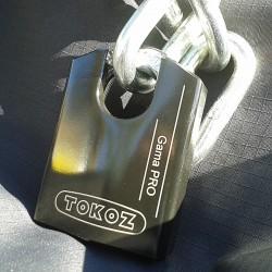 Ensemble Haute Sécurité Tokoz Gama Pro 70CS + Chaîne cémentée