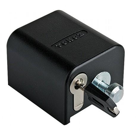 Tokoz x safety box ii fermeture renforc pour porte de for Cadenas porte de garage basculante