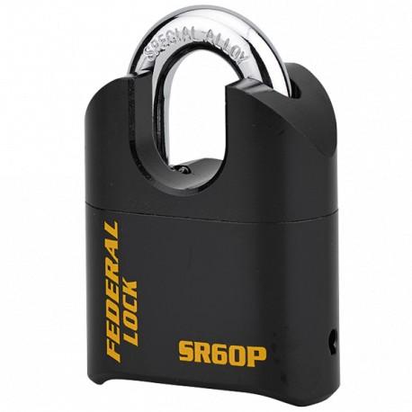 Cadenas de sûreté à combinaison 4 molettes Thirard SRP60