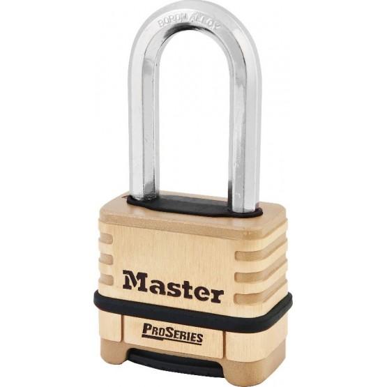 Master Lock 1175DLH - cadenas haute sécurité à combinaison et anse longue