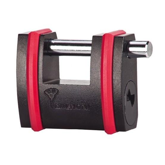 Cadenas monobloc haute sécurité Mul-T-Lock homologué grade 5 norme européenne