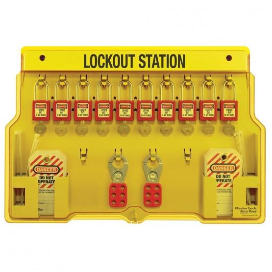 Station de cadenas à 10 cadenas de consignation MASTERLOCK