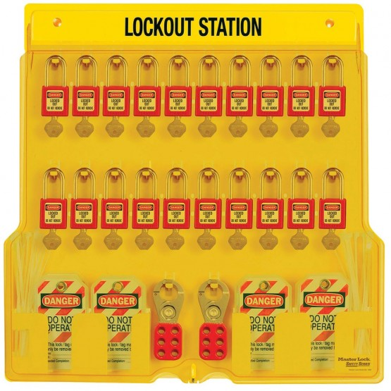 Station de cadenas à 20 cadenas de consignation MASTERLOCK
