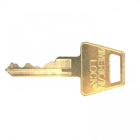 Clé pour cadenas American Lock à 6 goupilles