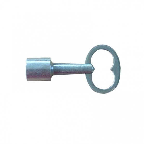 Clé triangulaire 14mm pour cadenas type Pompier