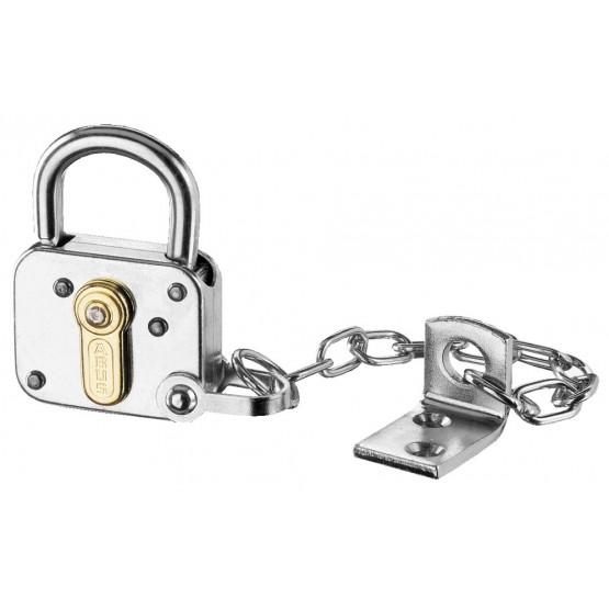 Cadenas de sûreté tradition ABUS 235Z-40 avec petite chaîne de maintien du cadenas