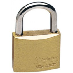 Cadenas ajax Vachette, assa abloy, cadenas laiton 45 mm