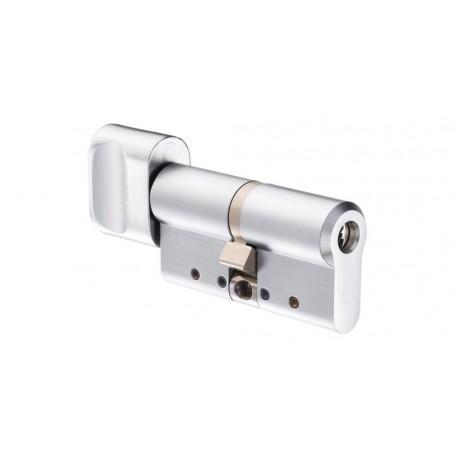 Cylindre bouton électronique haute sécurité ABLOY PROTEC2 CLIQ, cylindre à bouton électronique pour contrôle d'accès autonomes