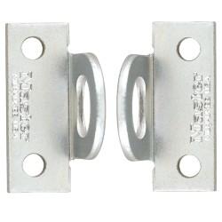 """Paire d""""oeillets Master Lock 60R - oeillets angle droit grande ouverture en acier cémenté"""