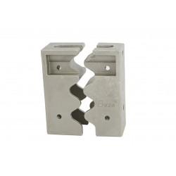 Porte-cadenas de haute sécurité pour portes coulissantes