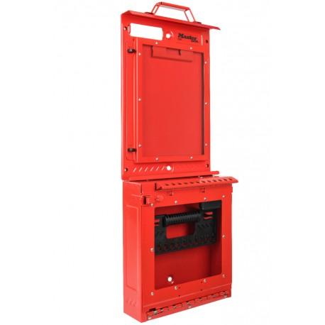 Centre de consignation rouge Master Lock S3500