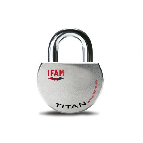 Gros cadenas à clé de haute sécurité, IFAM TITAN