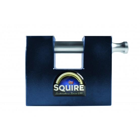 Cadenas monobloc à clé SQUIRE WS75S, homologué grade 4