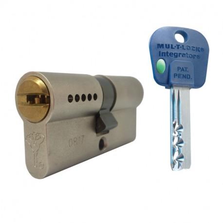 Cylindre à double entrée MUL-T-LOCK INTEGRATOR pour portes