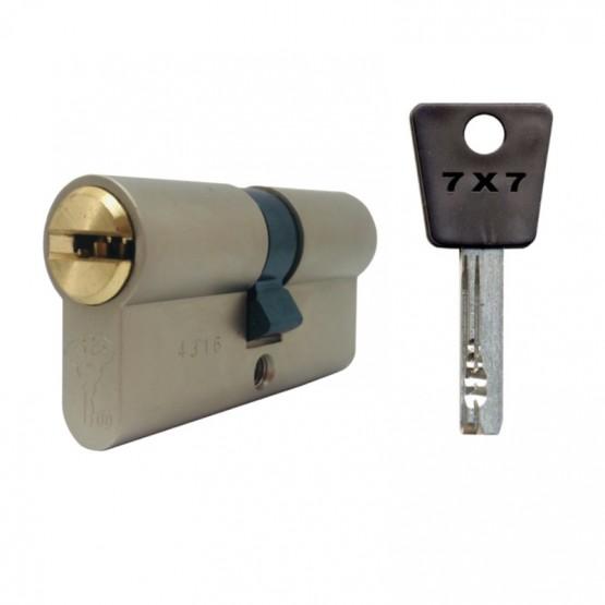 Cylindre à double entrée MUL-T-LOCK 7X7