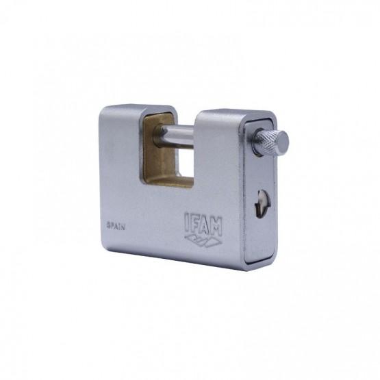 Cadenas monobloc à clé IFAM Armed U 80 utilisation industrielle