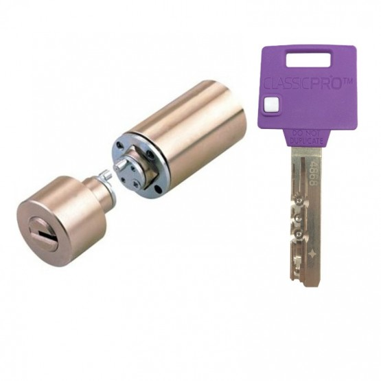 Cylindre Mul-T-Lock adaptable serrure 3 points KESO de JPM