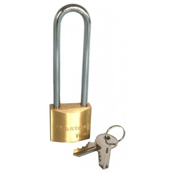 Master Lock 4130LJ - cadenas laiton anse longue 64 mm