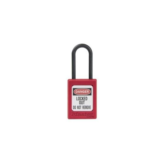 Master Lock S32 rouge - cadenas de consignation non conducteur