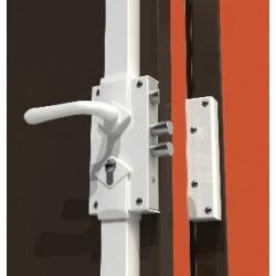 Serrure en applique 3 points Mul-T-lock S300 réversible en situation