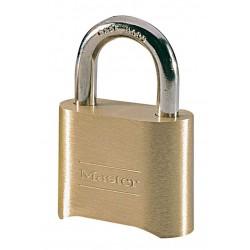 Master Lock 175D - cadenas laiton à combinaison personnalisable