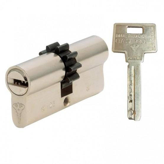 Cylindre à roue dentée MUL-T-LOCK Classic Pro clé métal