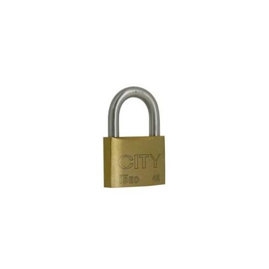 Cadenas Iseo CITY 45, clé variée ou s'entrouvrant