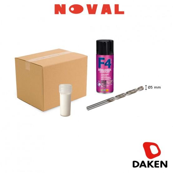 Kit de montage pour serrure antivol noval daken