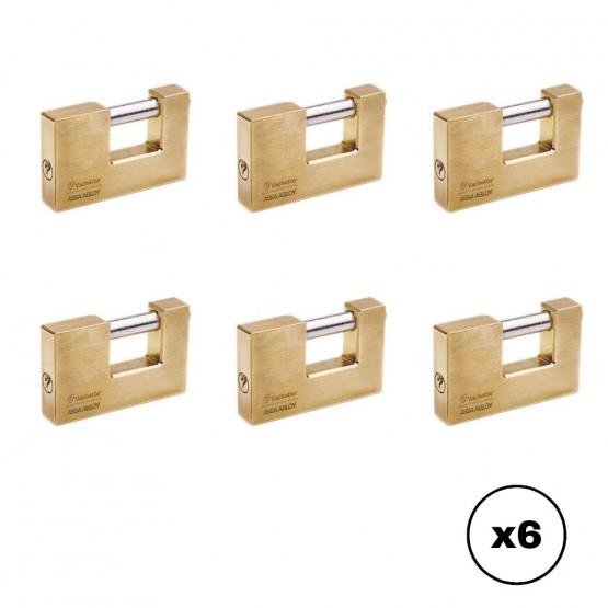 Lot de cadenas titan Vachette 1000 avec clé identique
