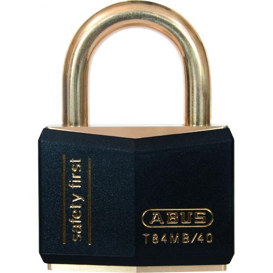 Cadenas ABUS T84MB 40mm cadenas marine, safety, cadenas couleur noir