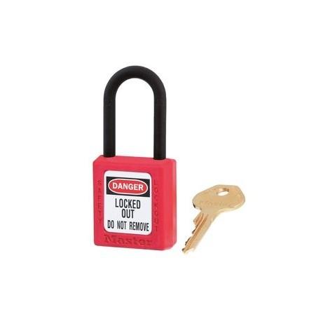 Master Lock 406RED - cadenas de consigantion non conducteur