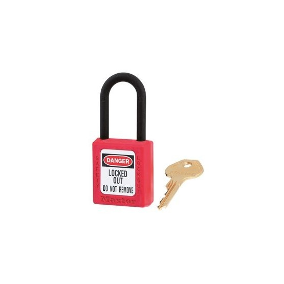 Master Lock 406RED - cadenas de consigantion non conducteur