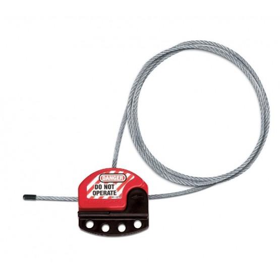 Master Lock S806: câble de consignation ajustable multi utilisateurs