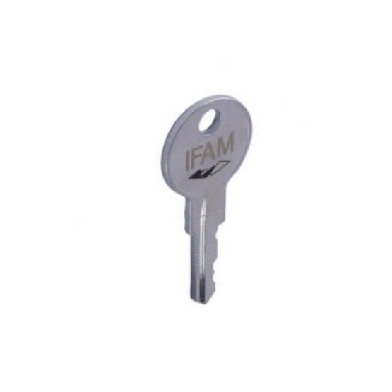 Cadenas à combinaison IFAM S4MK: cadenas à combinaison avec clé passe