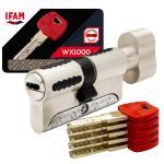 Cylindre à bouton de haute sécurité IFAM WX1000