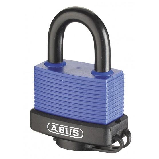 ABUS 70IB/45 - cadenas laiton anse inox entièrement gaîné PVC