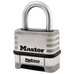 Master Lock 1174D - cadenas inox à combinaison