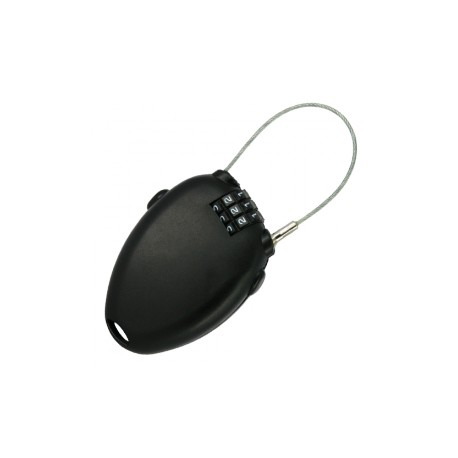 Antivol à câble Zipper, idéal pour les skis, les snowboards, ...