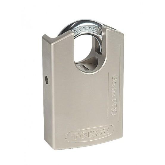 Cadenas de sécurité en alliage Tokoz Gama Pro 50, serrure à disques avec carte code