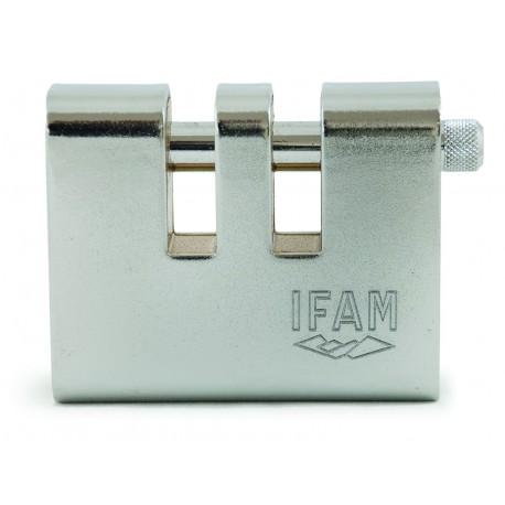 IFAM ARMOURED DOUBLE U 90 - cadenas acier double encoches