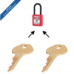 Option 2KEY pour cadenas de consignation Master Loc
