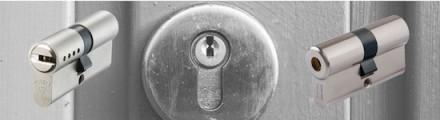 Cylindre de porte à deux entrées
