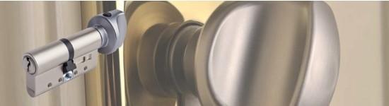 Cylindre de porte à bouton