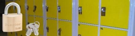 Cadenas pour casiers des Lycées, Collèges et vestiaires